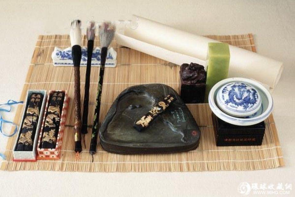 los cuatro tesoros del estudio (文房四宝)